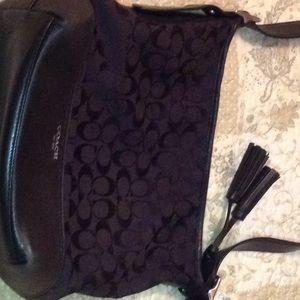 Coach hobo style purse